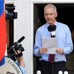 Julian Assange in Equador Embassy