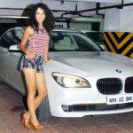 Kangana Ranaut's BMW 7 Series