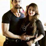 Karan with his wife Bella Vohra