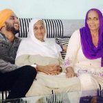 Mehtab Virk with Grand-Mother and Mother