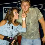 Mickie James dated wrestler Kenny Dykstra