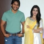 Naga Chaitanya with Samantha Rath
