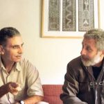Naseeruddin Shah with his brother Zameeruddin Shah