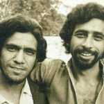 Om Puri and Naseeruddin Shah in 1970s