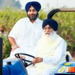 parkash-singh-badal-with-his-son