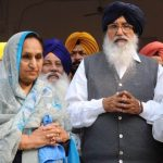 parkash-singh-badal-with-his-wife