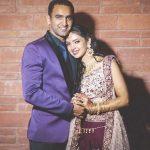 Pooja Banerjee with her husband Sandeep Sejwal