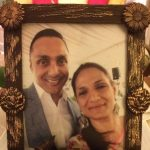 Rahul bose with his sister
