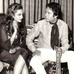 Rekha with Navin Nischol