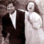 Rekha with late ex husband Mukesh Agarwal