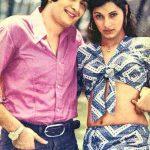Dimple Kapadia with Rishi Kapadia