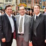 Randhir Kapoor with his brothers