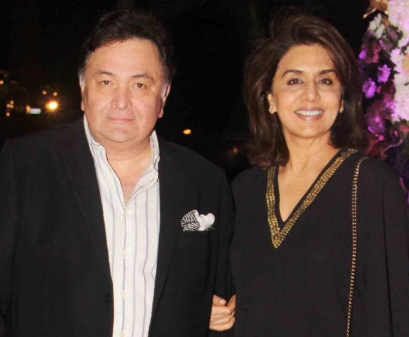 Rishi Kapoor With His Wife Neetu Singh