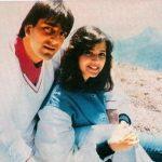 Sanjay Dutt With His Ex-Wife Richa Sharma