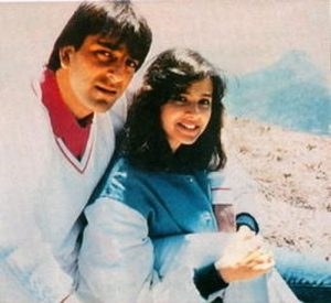 Sanjay Dutt With His Ex-Wife Richa Sharma