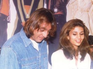 Sanjay Dutt With His Ex-Wife Rhea Pillai