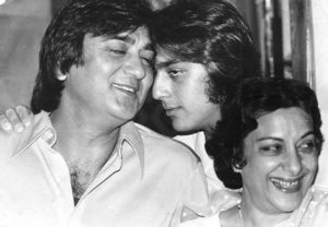 Sanjay Dutt With His Parents