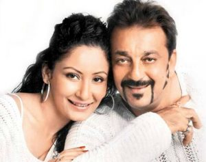 Sanjay Dutt With His Wife Manyata Dutt