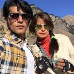 Karanvir Bohra with his sister Shivangi  Bohra