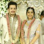 Shriya with her fiance Akhil