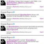 Sonam Kapoor Shobhaa De Twitter Fight