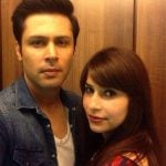 Sudeep Sahir with his wife