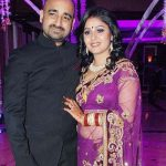 Sunidhi Chauhan with her husband Hitesh Sonik