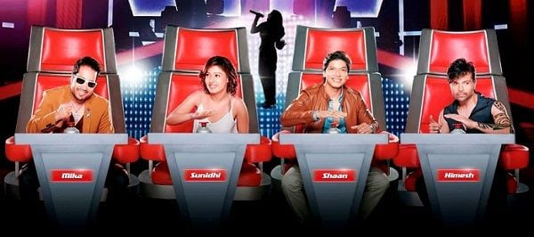Sunidhi Chauhan judged 'The Voice India' (2015)