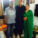 Taskin Ahmed with his Parents