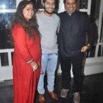 Vishal Bhardwaj with his wife Rekha and son Aasmaan