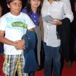 Pallavi Joshi with her children