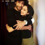 Abigail Jain with Sanam Johar