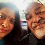 Aditi with her Father