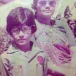 amar-upadhyay-chldhood-with-his-mother