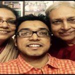 Anupam Roy with Parents