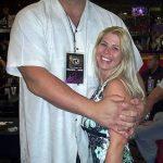 Big Show with his present wife Bess Katramados