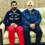 Binnu Dhillon father