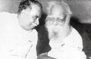 CN Annadurai (left) And Periyar (right)