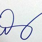Emma Stone signature