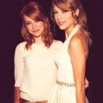 Emma Stone with Taylor Swift