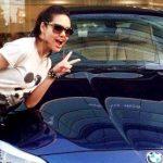 Esha Gupta BMW