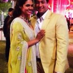 Esha Gupta with her brother