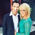 Glenn Maxwell with Candice Wyatt