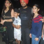 Gurpreet Ghuggi with his family