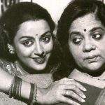 Hema Malini with her mother