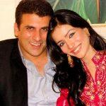 Humaima Malick with Shamoon Abbasi