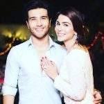 Humaima Malick with her brother