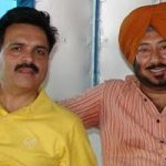 Jaswinder Bhalla with Bal Mukund Sharma