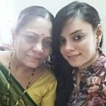 Jigar Mother & Sister