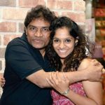 johnny lever with his daughter-personsinfo.in
